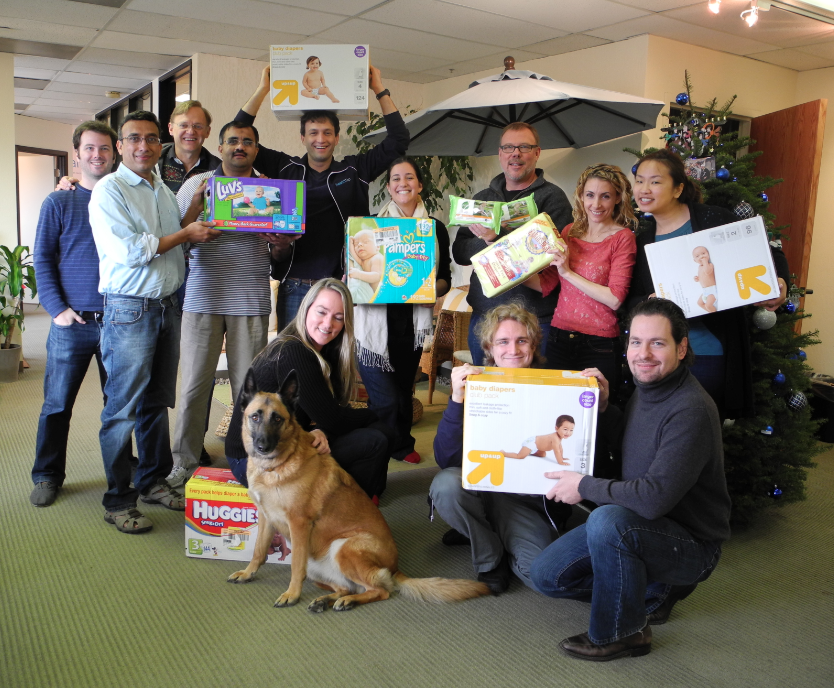 Team diaper drive photo